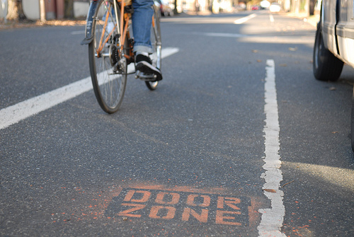 Diy door zone warning commute orlando for Door zone llc