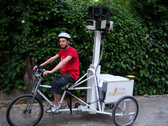 Starting in Europe, a vehicle for adding MUPs to Google StreetView