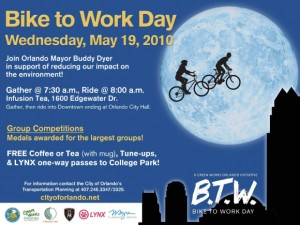 Bike to Work with Mayor Dyer
