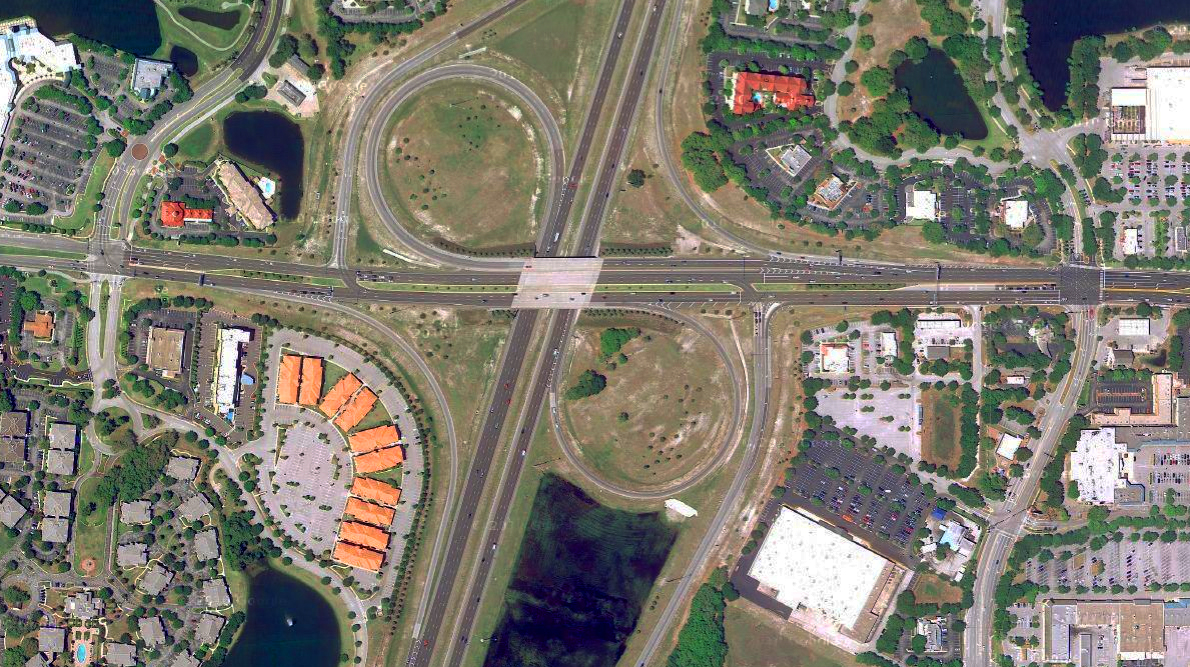 Problem-solving a massive, high-speed, car-centric interchange