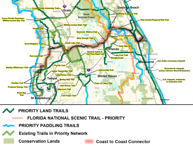 priority central florida trails